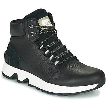 Schoenen Heren Hoge sneakers Sorel MAC HILL MID LTR WP Zwart