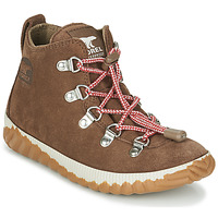 Schoenen Kinderen Laarzen Sorel YOUTH OUT N ABOUT™ CONQUEST Brown