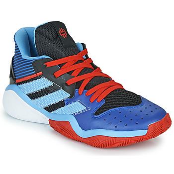 Schoenen Basketbal adidas Performance HARDEN STEPBACK Blauw / Zwart