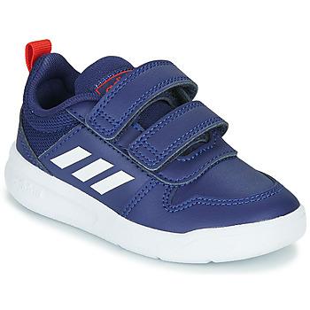 Schoenen Kinderen Lage sneakers adidas Performance TENSAUR I Blauw / Wit