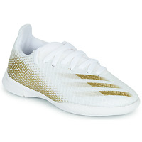 Schoenen Kinderen Voetbal adidas Performance X GHOSTED.3 IN J Wit