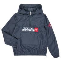 Textiel Jongens Wind jackets Teddy Smith BANKSKI Marine