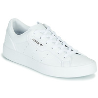 Schoenen Dames Lage sneakers adidas Originals adidas SLEEK W  VEG Wit
