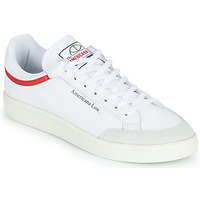 Schoenen Lage sneakers adidas Originals AMERICANA LOW Wit / Rood
