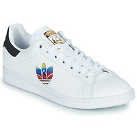 Schoenen Dames Lage sneakers adidas Originals STAN SMITH W Wit / Logo