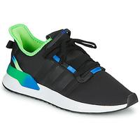 Schoenen Heren Lage sneakers adidas Originals U_PATH RUN Zwart / Groen