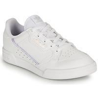 Schoenen Meisjes Lage sneakers adidas Originals CONTINENTAL 80 C Wit / Iridescent
