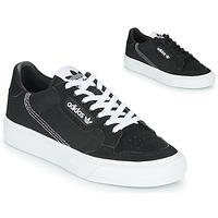 Schoenen Kinderen Lage sneakers adidas Originals CONTINENTAL VULC J Zwart