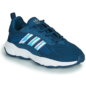 Schoenen Jongens Lage sneakers adidas Originals HAIWEE J Blauw