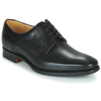 Schoenen Heren Derby Barker ELLON Zwart