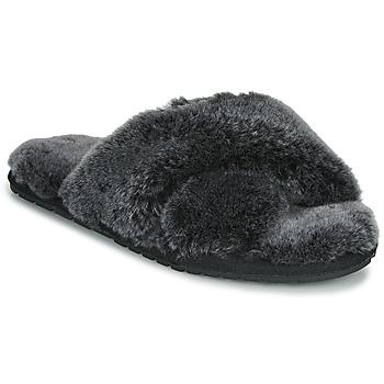 Schoenen Dames Sloffen EMU MAYBERRY FROST Zwart