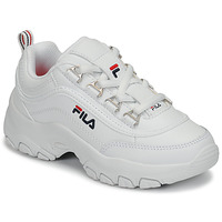 Schoenen Meisjes Lage sneakers Fila STRADA LOW KIDS Wit