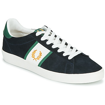 Schoenen Heren Lage sneakers Fred Perry SPENCER SUEDE / TIPPING Blauw