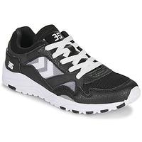 Schoenen Heren Lage sneakers Hummel EDMONTON 3S LEATHER Zwart