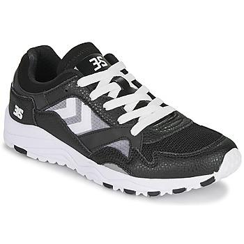 Schoenen Lage sneakers Hummel EDMONTON 3S LEATHER Zwart