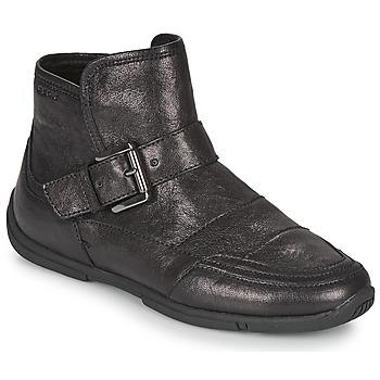Schoenen Dames Laarzen Geox AGLAIA Zwart
