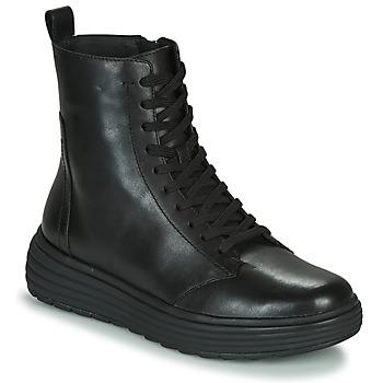 Schoenen Dames Laarzen Geox PHAOLAE Zwart