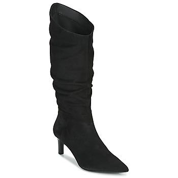 Schoenen Dames Hoge laarzen Geox BIBBIANA Zwart