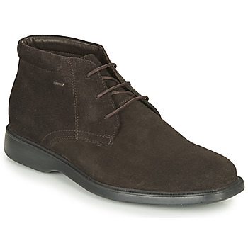 Schoenen Heren Laarzen Geox BRAYDEN 2FIT ABX Brown