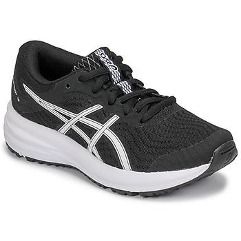 Schoenen Kinderen Running / trail Asics PATRIOT 12 GS Zwart / Wit