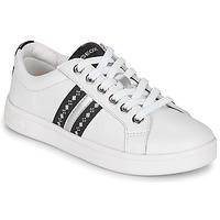 Schoenen Meisjes Lage sneakers Geox DJROCK Wit