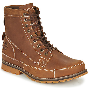 Schoenen Heren Laarzen Timberland ORIGINALS II LTHR 6IN BT Brown