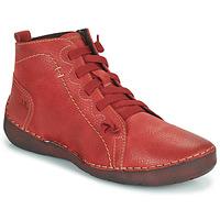 Schoenen Dames Hoge sneakers Josef Seibel FERGEY 86 Rood