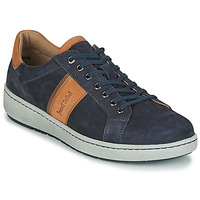 Schoenen Heren Lage sneakers Josef Seibel DAVID 01 Blauw