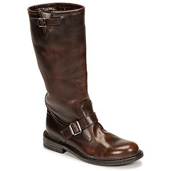 Schoenen Dames Hoge laarzen Moma BIRERS Brown