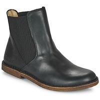 Schoenen Dames Laarzen Kickers TINTO Zwart