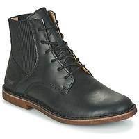 Schoenen Dames Laarzen Kickers TITI Zwart