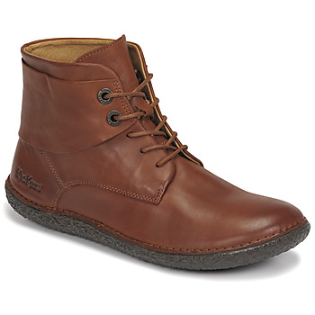 Schoenen Dames Laarzen Kickers FOWTOW Brown