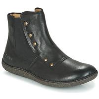 Schoenen Dames Laarzen Kickers HAPPLI Zwart