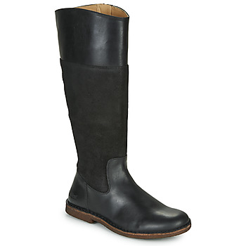 Schoenen Dames Hoge laarzen Kickers TAKIKO Zwart