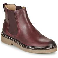 Schoenen Dames Laarzen Kickers OXFORDCHIC Rood
