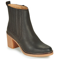 Schoenen Dames Laarzen Kickers AVERNY Brown / Donker