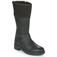 Schoenen Dames Hoge laarzen Kickers WATHIGH Zwart