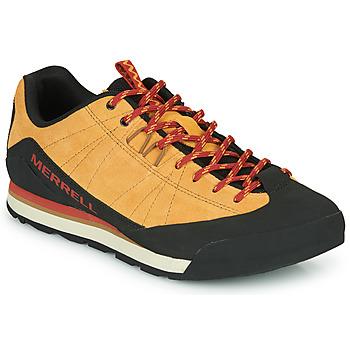 Schoenen Heren Lage sneakers Merrell CATALYST SUEDE  camel / Zwart