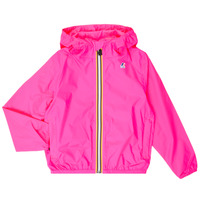 Textiel Meisjes Windjacken K-Way LE VRAI 3.0 CLAUDE KIDS Roze