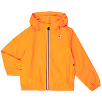 Textiel Kinderen Windjacken K-Way LE VRAI 3.0 CLAUDE KIDS Orange