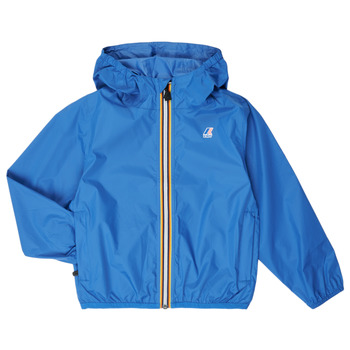 Textiel Kinderen Windjacken K-Way LE VRAI 3.0 CLAUDE KIDS Blauw