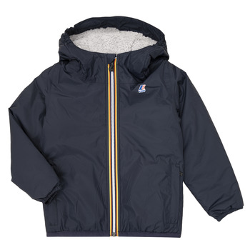 Textiel Kinderen Wind jackets K-Way LE VRAI 3.0 CLAUDE ORSETTO KIDS Marine