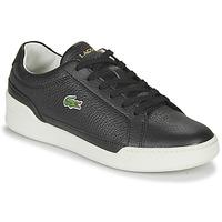 Schoenen Dames Lage sneakers Lacoste CHALLENGE 0120 1 SFA Zwart / Wit