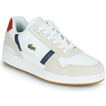 Schoenen Heren Lage sneakers Lacoste T-CLIP 0120 2 SMA Wit / Marine / Rood
