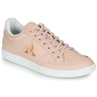 Schoenen Dames Lage sneakers Le Coq Sportif COURT CLAY W Roze