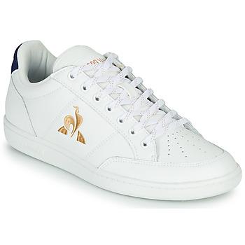 Schoenen Dames Lage sneakers Le Coq Sportif COURT CLAY W Wit / Blauw