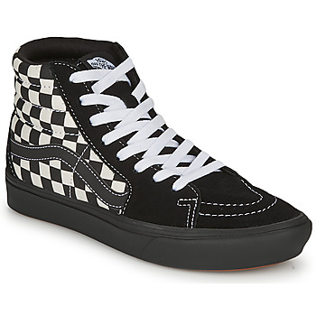 Schoenen Dames Hoge sneakers Vans Comfycush Sk8-Hi Zwart