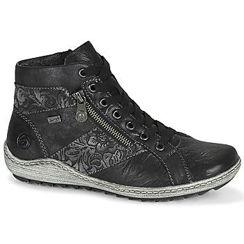 Schoenen Dames Hoge sneakers Remonte Dorndorf LAMIN Zwart