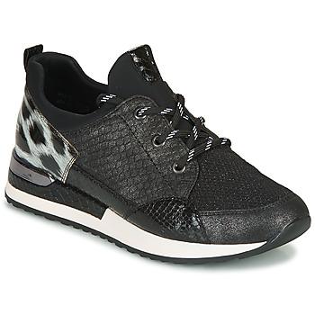 Schoenen Dames Lage sneakers Remonte Dorndorf R2503-45 Zwart / Leopard