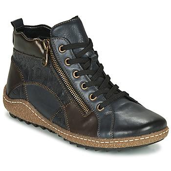 Schoenen Dames Hoge sneakers Remonte Dorndorf  Blauw